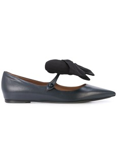 Tabitha Simmons Evangeline bow-detail ballerina shoes