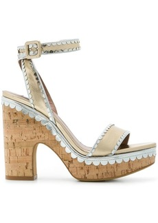Tabitha Simmons frilly Harlow sandals