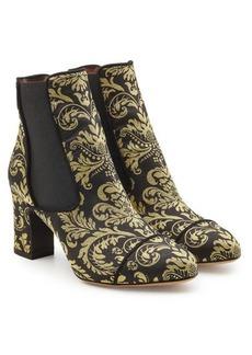 Tabitha Simmons Kiki Damask Printed Ankle Boots