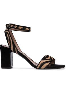 Tabitha Simmons Leticia zebra-print sandals