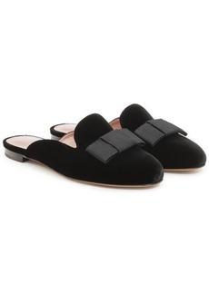 Tabitha Simmons Masha Velvet Mule Slippers