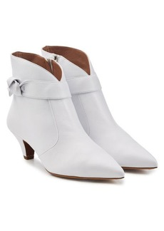 Tabitha Simmons Nixie Leather Ankle Boots
