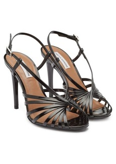 Tabitha Simmons Patent Leather Jazz Sandals