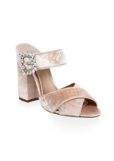 Tabitha Simmons Reyner Buckle Slide Sandals