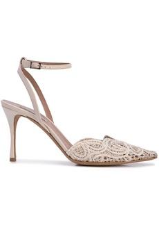 Tabitha Simmons Sen Floret lace pumps