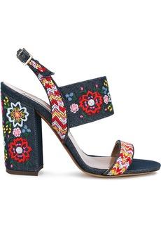 Tabitha Simmons Senna Festival embroidered sandals