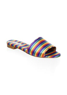 Tabitha Simmons Sprinkles Rainbow Slides
