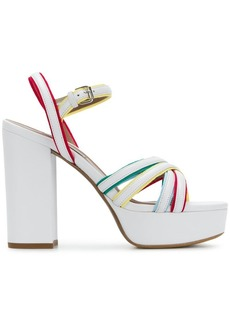 Tabitha Simmons strappy block heel sandals