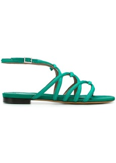 Tabitha Simmons strappy side buckle sandals