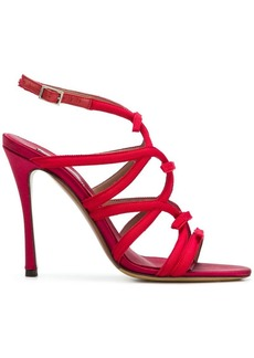 Tabitha Simmons strappy stiletto sandals