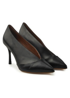 Tabitha Simmons Strike Leather Pumps