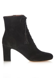 Tabitha Simmons Afton lace-up suede ankle boots