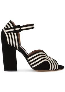 Tabitha Simmons Alexis wave ankle strap sandals - Black