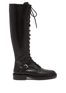 Tabitha Simmons Alfri lace-up leather knee-high boots