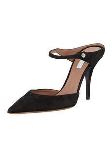 Tabitha Simmons Allie Suede 95mm Slide Mules