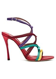 Tabitha Simmons Bowrama grosgrain-bow stiletto sandals