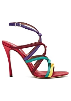 Tabitha Simmons Bowrama grosgrain-bow stiletto sandals