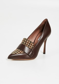 Tabitha Simmons Caspian Tweed Combo Pumps