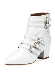 Tabitha Simmons Christy Leather Buckle 50mm Bootie