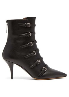 Tabitha Simmons Dash buckled leather boots