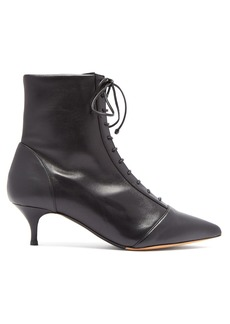 Tabitha Simmons Emmet lace-up leather ankle boots