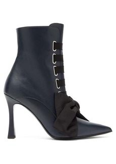 Tabitha Simmons Farren lace-up leather boots