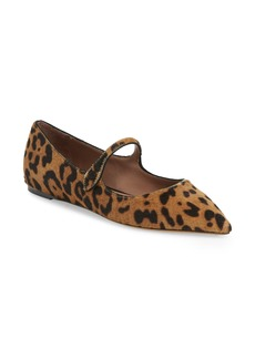 Tabitha Simmons Hermione Genuine Calf Hair Mary Jane Flat (Women)