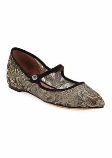 Tabitha Simmons Hermione Lace Ballet Flats