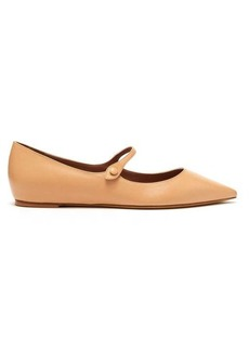 Tabitha Simmons Hermione leather flats