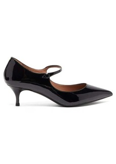 Tabitha Simmons Hermione patent-leather Mary-Jane pumps