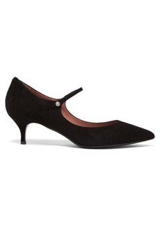 Tabitha Simmons Hermione suede pumps