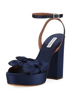 Tabitha Simmons Jodie Satin Ankle-Strap Sandal