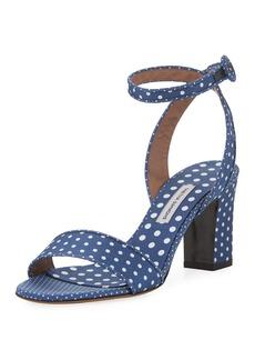 Tabitha Simmons Leticia Polka-Dot Sandal
