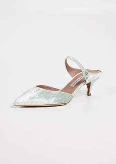 Tabitha Simmons Liberty Velvet Mule Pumps
