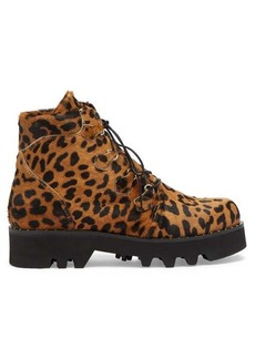 Tabitha Simmons Neir leopard-print ankle boots