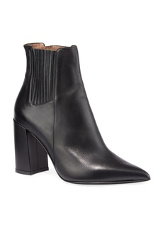 Tabitha Simmons Noa Leather Pleated Booties