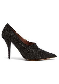 Tabitha Simmons Oona Lurex point-toe pumps