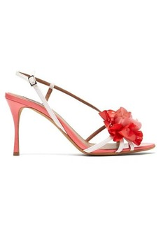 Tabitha Simmons Peony patent-leather sandals