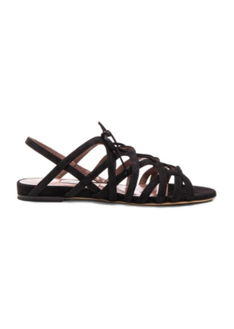 Tabitha Simmons Suede Emmie Sandals