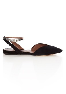 Tabitha Simmons Vera suede flats