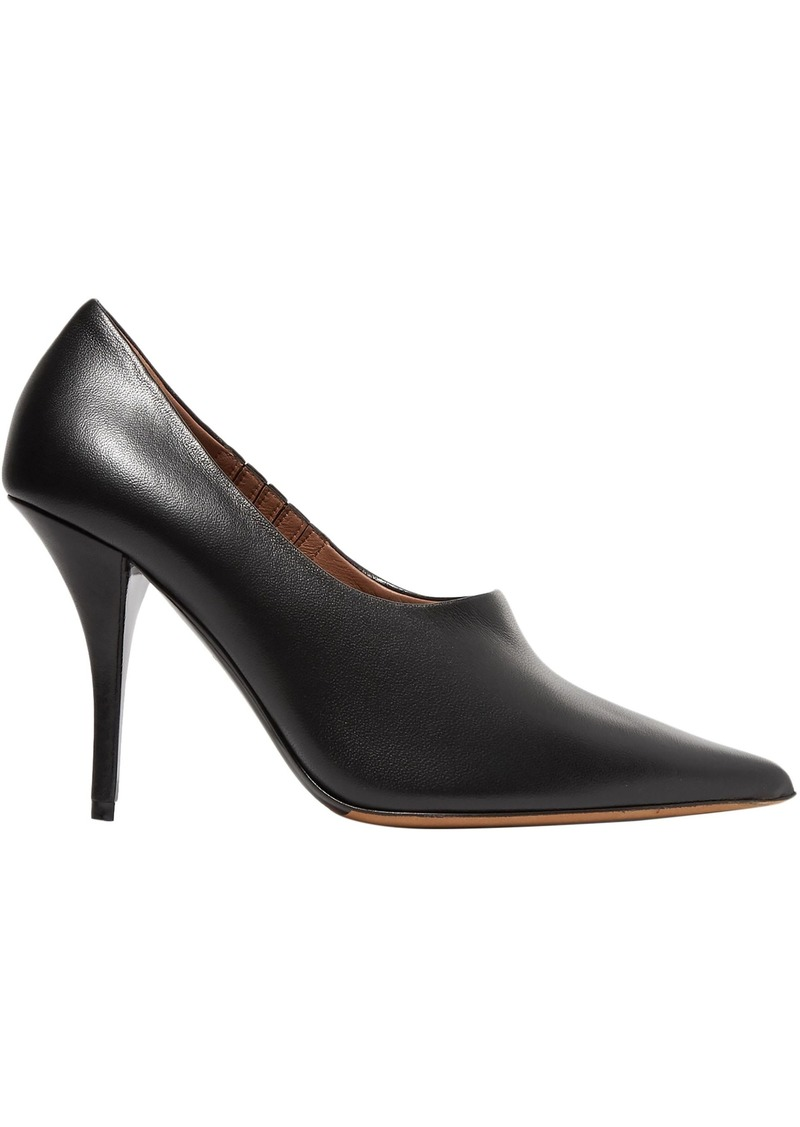Tabitha Simmons Woman Leather Pumps Black