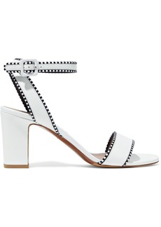 Tabitha Simmons Woman Leticia Leather Sandals White