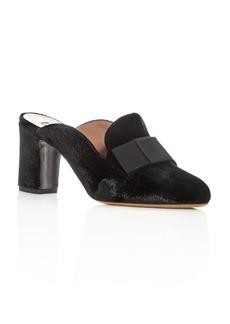Tabitha Simmons Women's Anya Velvet High-Heel Mules