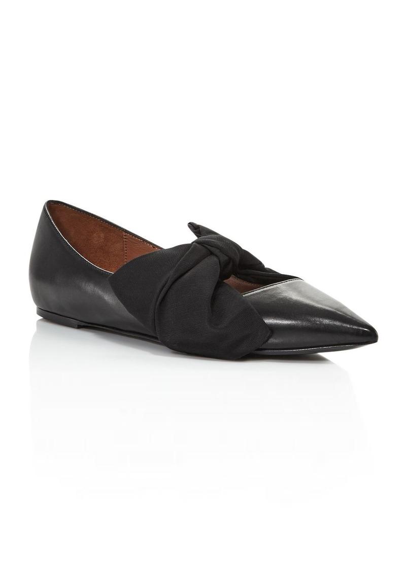Tabitha Simmons Women's Evangeline Bow-Embellished Flats