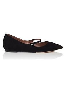 Tabitha Simmons Women's Hermione Suede Flats