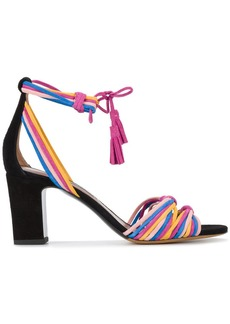 Tabitha Simmons woven strappy sandals