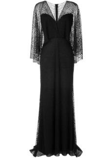 Tadashi gothic evening dress