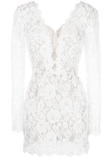 Tadashi lace-embroidered dress