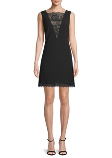 Tadashi Lace Jacquard Crepe Dress