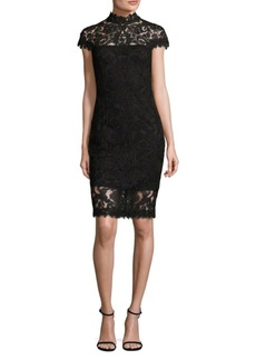 Tadashi Lace Sheath Dress
